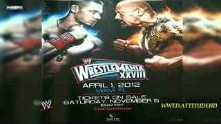 2012 WWE WrestleMania 28 Official Theme Song.3gp