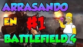 Arrasando en Battlefield 4