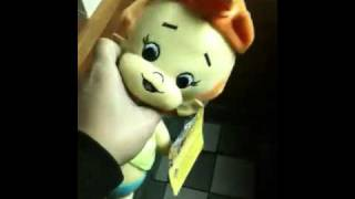 Hooking pebbles at Denny's claw game