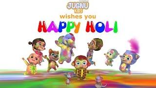 Holi Dance Video | Happy Holi from Jugnu Kids