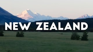 New Zealand - travel vibes in a few minutes