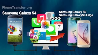 [Galaxy S4 to S6]: How to Transfer All Files from Samsung S4 to Samsung Galaxy S6 (Edge Plus)
