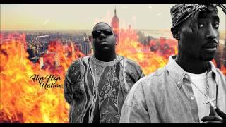 2Pac feat. Notorious B.I.G - Psychos (Audio+Lyrics) | Hip Hop Nation [Bass Boosted]