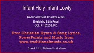 Infant Holy Infant Lowly(viola section-cello)- Christmas Carols Lyrics & Music
