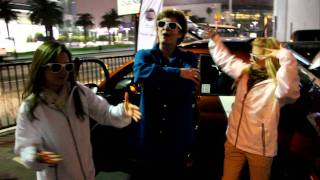 Fiat 5-0-0 Rapsody Performed by Andrea & Fiat Live Street Team at 2011 LA Auto Show