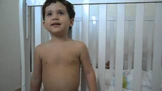 "Nicolas cantando "" A Arca"" do DVD ""A Arca de Noé"" do Diante do Trono. 22/08/2012"