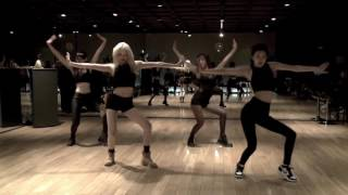 BLACK PINK (블랙핑크) Dance Practice Choreography (Jisoo, Jennie, ROSÉ, Lisa)