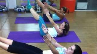 pilates coreografado