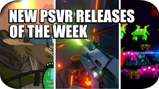 New PSVR Games Of This Week, April 22nd!