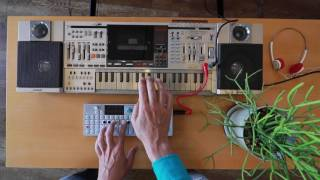"""another word for productivity"" on Casio KX-101 x OP-1"