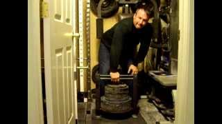 250lb plate loaded grip machine hold