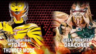 Dapat TORGA THUNDER MODE Sang Satria Harimau | BIMA-X Event [INDONESIA] width=
