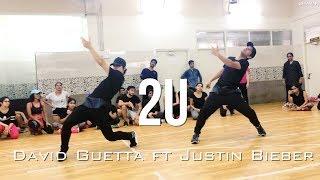 David Guetta ft Justin Beiber - 2U | Ricki&Sarang Choreography