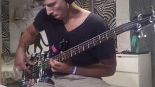 Escape The Fate - Fire It Up (bass cover)