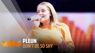 Pleun - Don't Be So Shy | Live op 538Koningsdag 2017