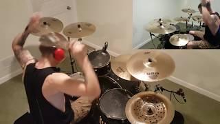 Beartooth - Sick of me drums (Trent Laugerman)