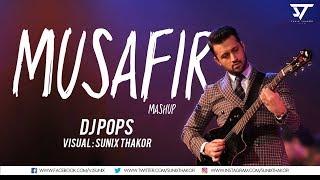Atif Aslam   Musafir Mashup   Dj Pops   Visual : Sunix Thakor width=