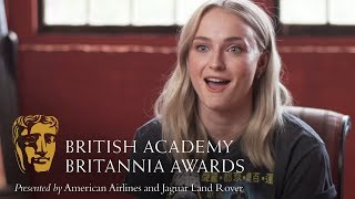 Sophie Turner on Emilia Clarke | Britannia Awards 2018