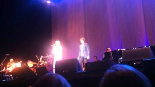 Josh Groban Live in Stockholm 2011 - The Prayer (Duet with a fan from the audience)