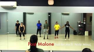Post Malone - Ball for me ft. Nicki Minaj   Urbanation Dance Class