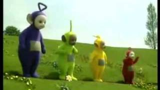 Teletubbies dancing on Dimmu borgir - Spellbound