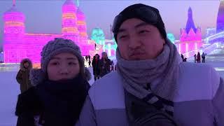 鬼斧神雕红场玉佛寺 名胜汇聚哈尔滨冰雪节