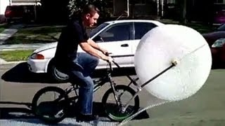 Bubble wrap as you've never seen it before