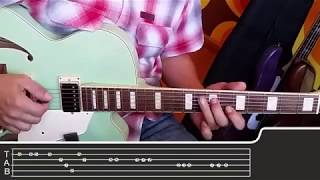 Amar pelos dois - Guitar Tab melody