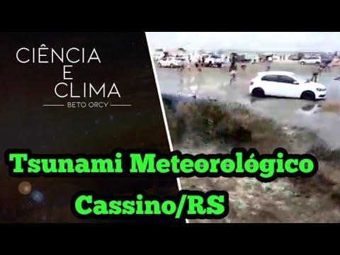 Tsunami Meteorológico na Praia do Cassino RS