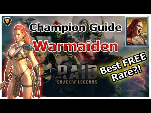 RAID Shadow Legends | Champion Guide | Warmaiden