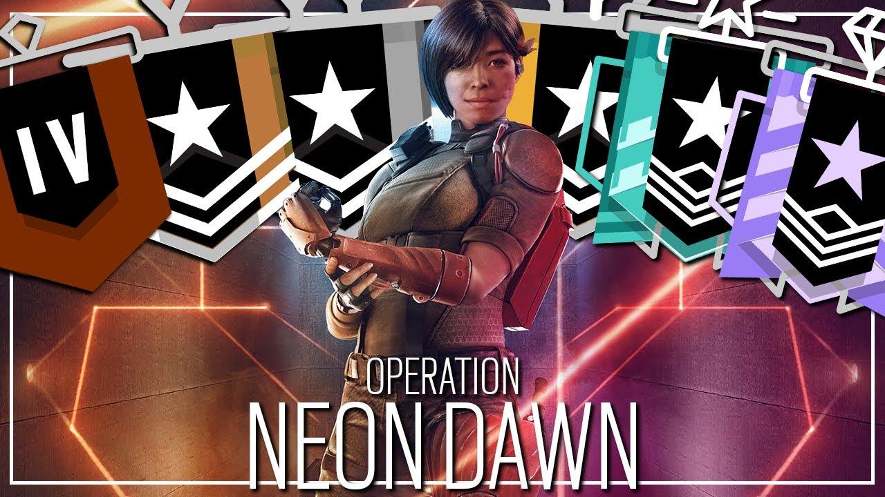 Varsity Gaming - Neon Dawn Placements - Rainbow Six Siege