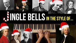 Jingle Bells in Various Classical Composer Styles | Practice Notes 42