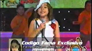 Fer Jimenez - Como una mariposa - Código FAMA 3 (Séptimo Musical)