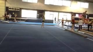 Chloe Cunliffe floor routine