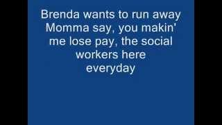 2pac-Brendas gotta baby lyrics video