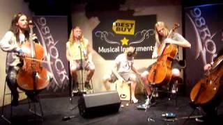 Apocalyptica- End of Me (Acoustic) March 4, 2011