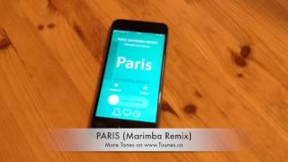 Paris Ringtone (The Chainsmokers Tribute Marimba Remix Ringtone) • For iPhone & Android