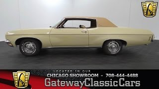 1970 Chevrolet Impala Custom Gateway Classic Cars Chicago #908