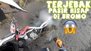 Terjebak Pasir Hisap Di Bromo,Video MotoVLog PERTAMA Surabaya Enduro Special Engine (SE2) Part 3