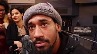 'GET CLEAN & MAKE WEIGHT' -DEMETRIUS ANDRADE TO BJ SAUNDERS AFTER WIN OVER AKAVOV /TARGETS GGG FIGHT