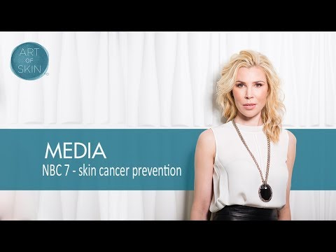 Skin cancer prevention and sunscreens with Dr. Palm NBC San Diego