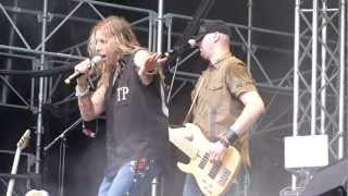 Ted Poley - Don't Blame It On Love (live at Skogsröjet)