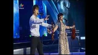 Alexander Rybak feat. Valerija - Fairytale (live on The Voice)