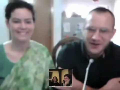 Bos'   Skype call