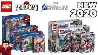 LEGO Marvel Avengers & Spider-Man 2020 Sets Revealed