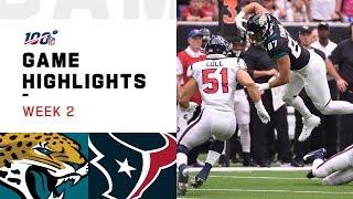 Jaguars vs. Texans Week 2 Highlights   NFL 2019