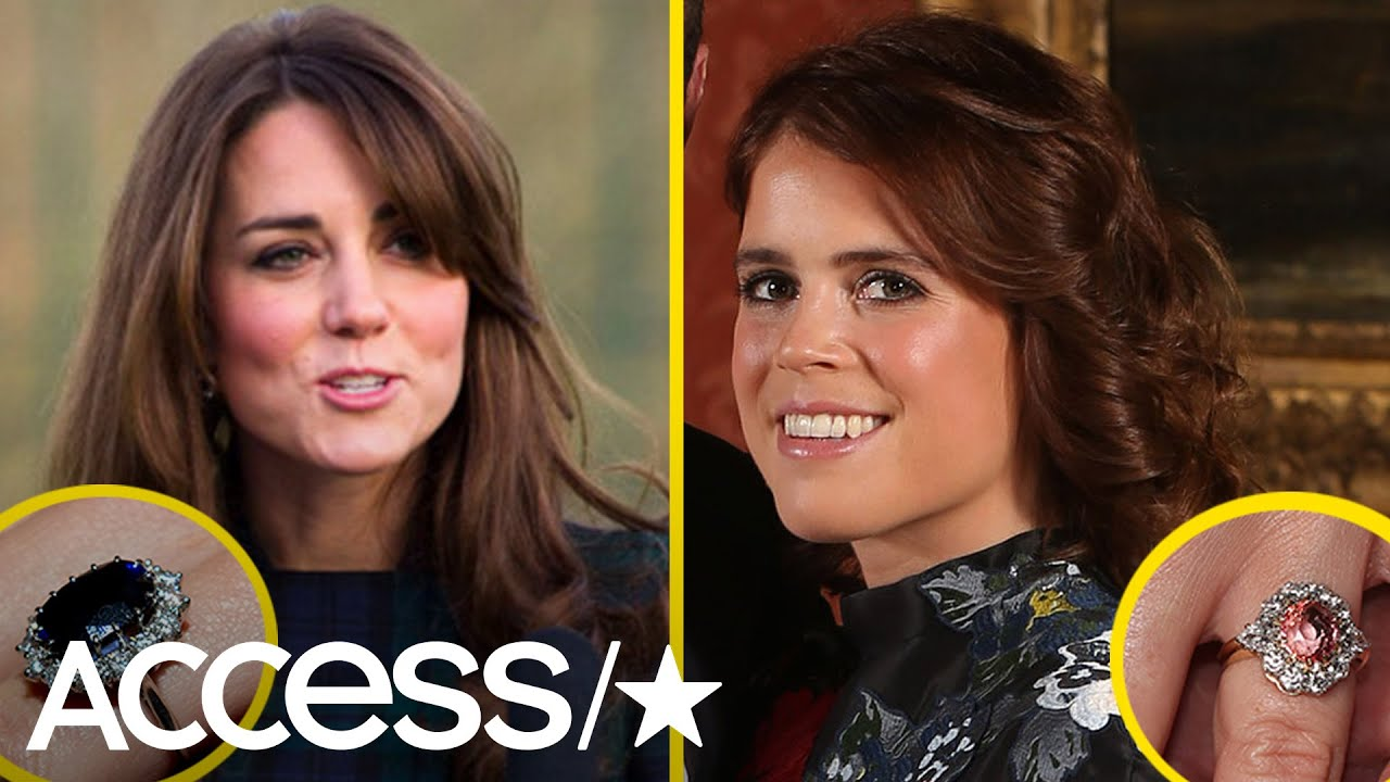 Why Princess Eugenie's Engagement Ring is more 'Rare' than Kate Middleton's