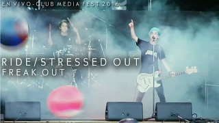 Freak Out - Ride/Stressed Out (Live @ Estadio G.E.B.A) twenty one pilots Cover