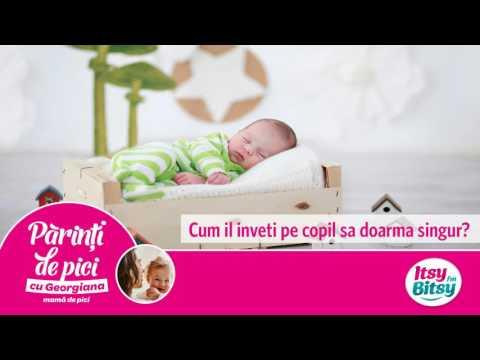 Cum il inveti pe copil sa doarma singur?