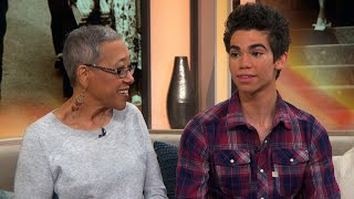Cameron Boyce Blushes When Grandma Raves About His Success In 2016 Interview
